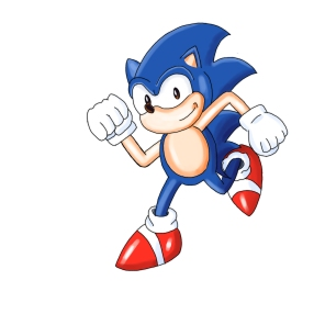 Sonic The Hedgehog copy